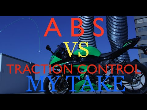 ABS VS TRACTION CONTROL ON MOTORCYCLE
