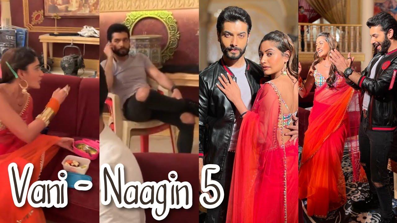 Bani Veer Behind The Scenes Masti | Vani together | Naagin 5 Update Telly Updates