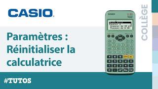 НАЛАШТУВАННЯ : Скидання калькулятор CASIO fx-92 Спеціальне Коледж