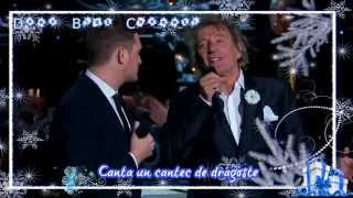 Michael Buble´ & Rod Stewart - Winter wonderland (SUBTITRAT ROMÂNĂ)