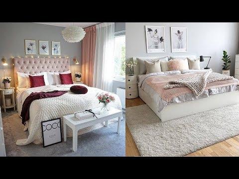 beautiful-women's-bedroom-design-|-romantic-feminine-bedroom-decorating