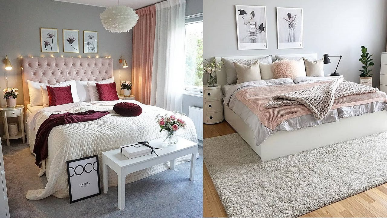 Beautiful Women's Bedroom Design | Romantic Feminine ...