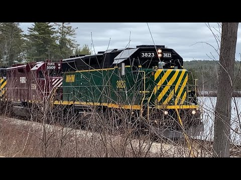 New Hampshire Northcoast Short Freight Train