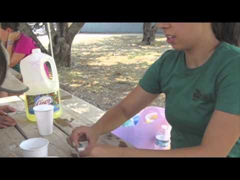 trak science activities @ summer camp