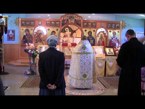 USA. Saint Nicholas Russian Orthodox Church.  Fletcher, North Carolina.