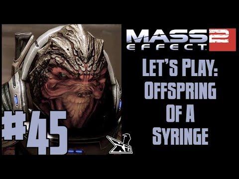 Let's Play Mass Effect 2 (Blind) #45 | Offspring Of A Syringe