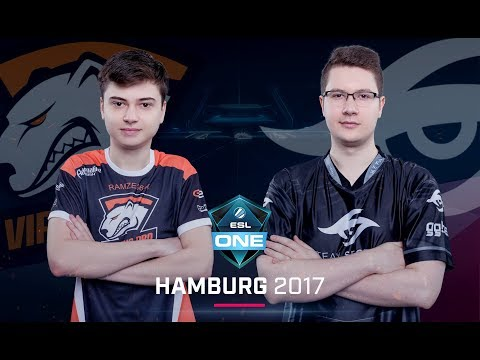 Virtus.pro vs. Team Secret - ESL One Hamburg 2017 G2