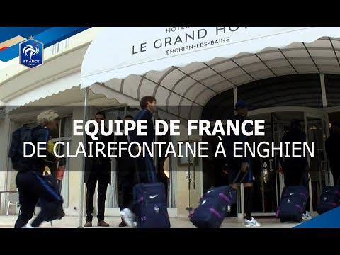 Equipe de France : De Clairefontaine à Enghien, reportage I FFF 2017