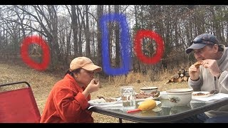 Will Bigfoot Sasquatch Join Picnicking Couple After Smelling Wife's Authentic Filipino Cuisine?