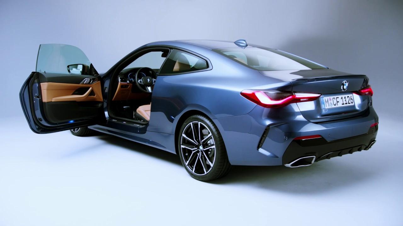 interior 2021 bmw 4 series coupe  european model shown
