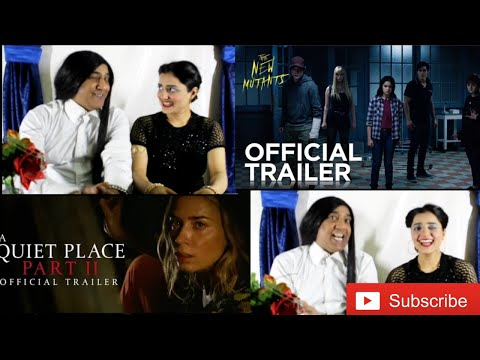 The New Mutants trailer review |20th Century FOX| A Quiet Place |Paramount Pictures| |warda javaid|