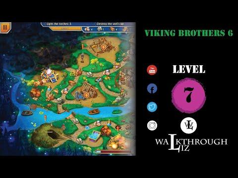 Viking Brothers 6 - Level 7 Walkthrough  