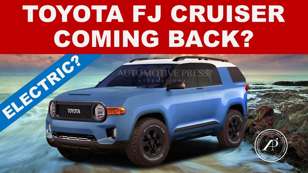 ENGINEER IMAGINES 2026 TOYOTA FJ CRUISER - Could Toyota Bring Back the FJ Cruiser?