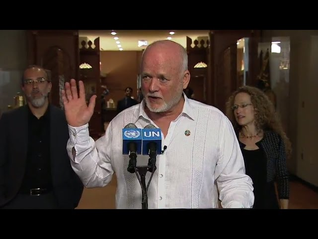 SDG Action Event on Innovation - Media Stakeout (17 May 2017)