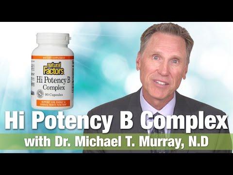 Natural Factors Hi Potency B Complex 50mg with Dr.  Michael T.  Murray