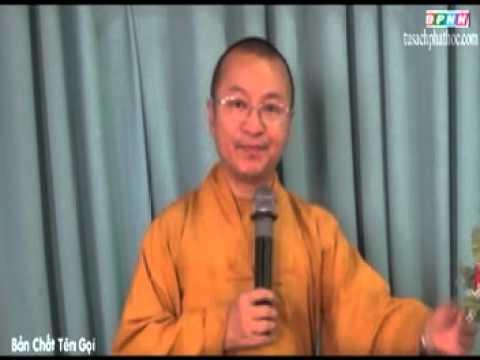 Triết học ngôn ngữ Phật giáo 12: Bản chất tên gọi (29/06/2012)