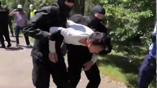 Спецназ задержал участника митинга 6 июня в Алматы