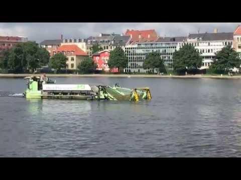 Grødeskæring og opsamling i Københavns Indre Søer
