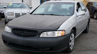 2001 Nissan Altima GXE Cheap Cars For Sale NJ