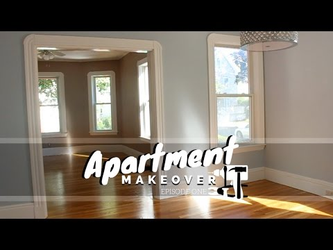 Living & Dining Room || Apartment Makeover