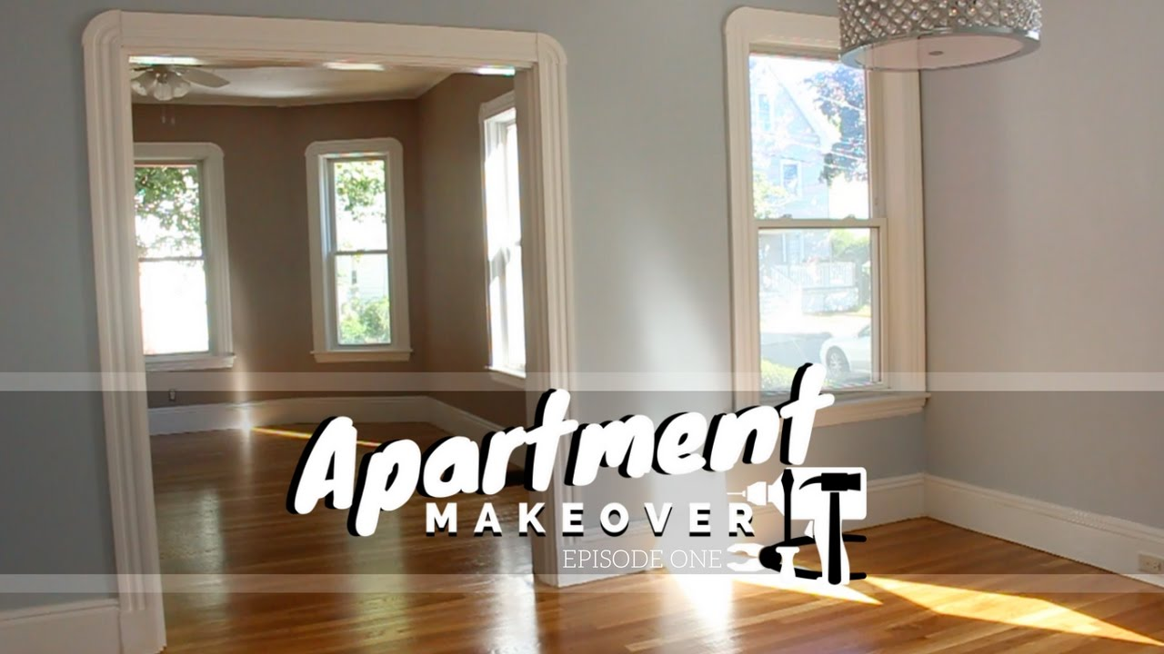 Living Dining Room Apartment Makeover Youtube