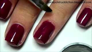 How I Paint My Nails + Cuticle Clean Up