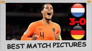 Best match pictures - Netherlands Vs Germany (3-0) - UEFA Nations League 13/10/2018