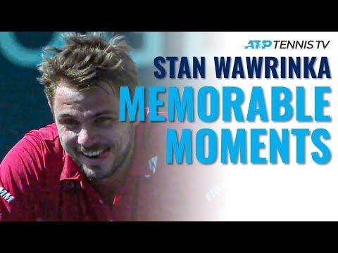 Stan Wawrinka's Most Memorable ATP Tennis Moments