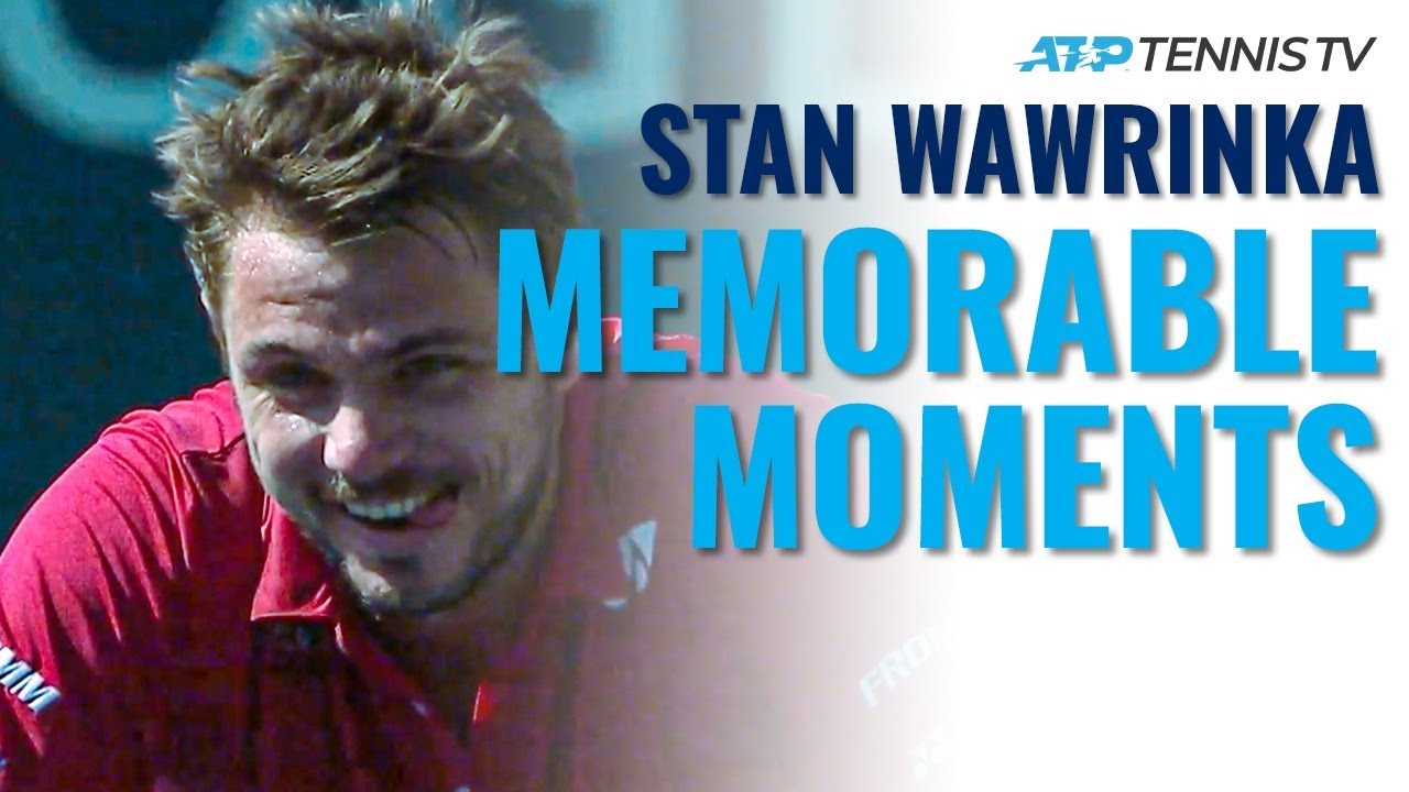 Stan Wawrinka's Most Memorable ATP Tennis Moments