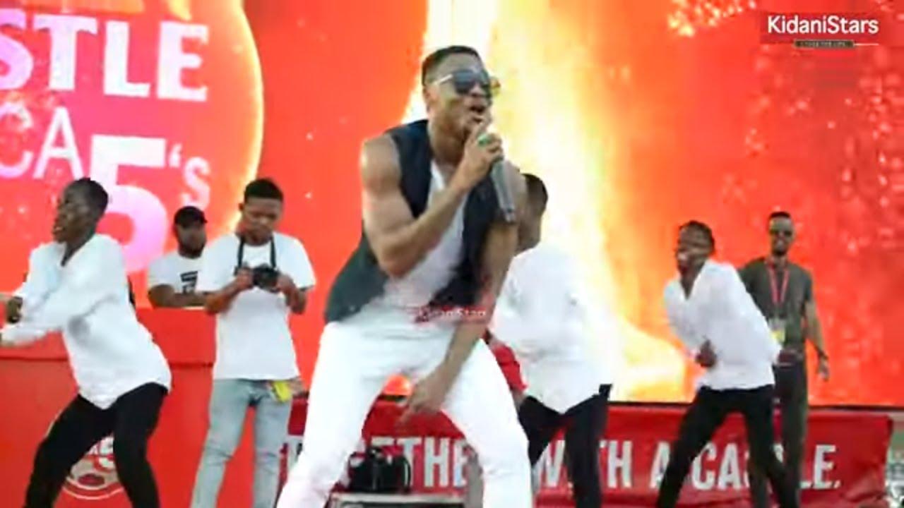 Download AliKiba Afunika Shoo Ya Castle Africa Five, Uwanja Wa Uhuru