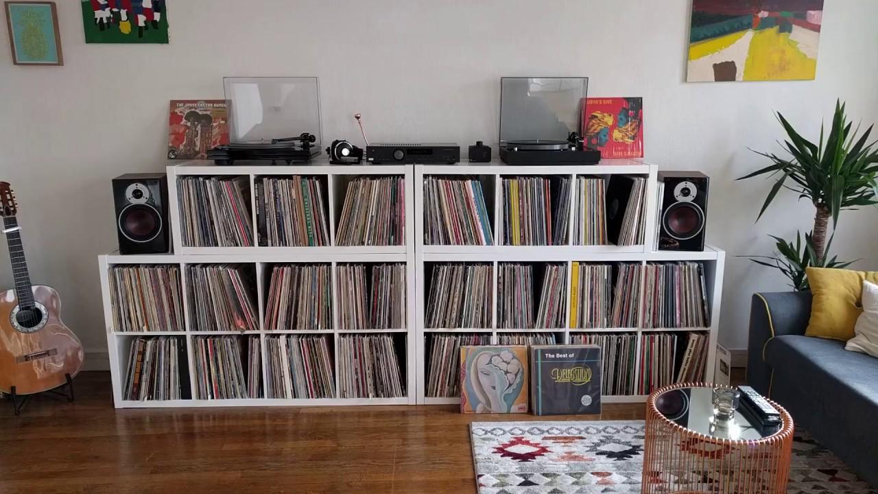 Vinyl Records room tour :) - YouTube
