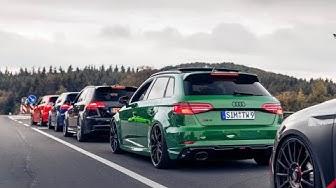 Audi RS3 / TT RS Club Nürburgring meeting 3.0! VLOG #03
