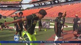 Hawaii athletes impress at the Nike Football Combine