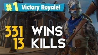 SOLO-DOUBLE BAZUCA! 13 KILLS 331 WINS (Fortnite Battle Royale free) [PT-BR]-Softe