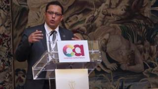 Khalid Hajji at CAF 2015 annual Forum - 2nd Session
