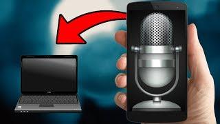 UTILISER SON TÉLÉPHONE COMME MICRO PC - SANS LOGICIEL | MICRO YOUTUBE GRATUIT