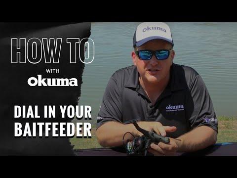 Okuma How To- Dial In Your Baitfeeder Reel