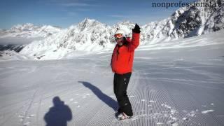 Самоучитель по горным лыжам. Первый день обучения.