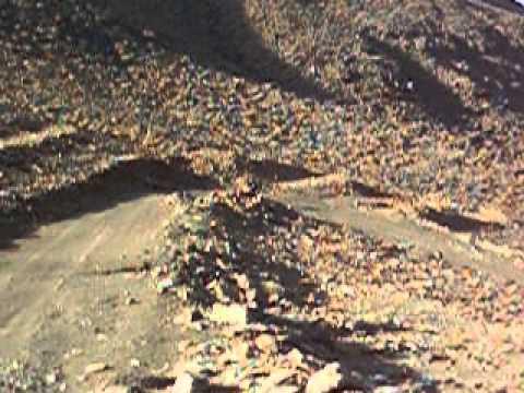 Algeria Rai Djanet Tamanrasset Ore 16 pista in montagna verso l'assekrem