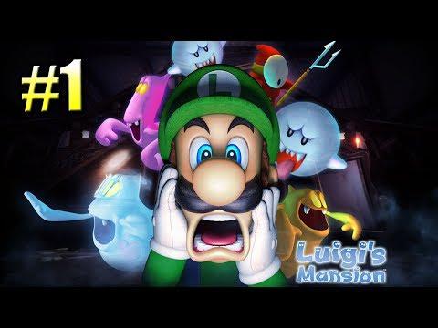 Luigi's Mansion #1 — Марио и Дом Привидений {GameCube} прохождение часть 1