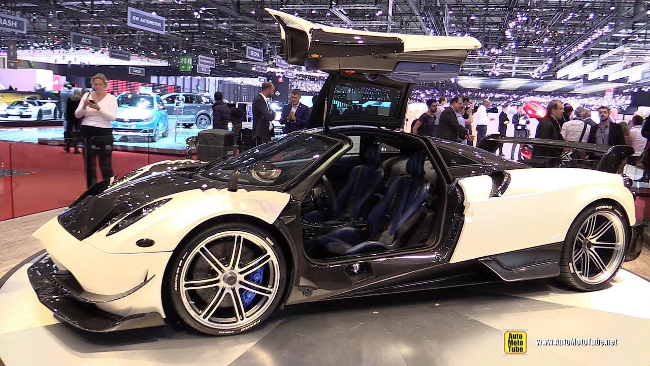 Pagani Huayra Bc Exterior And Interior Walkaround Debut At 2016