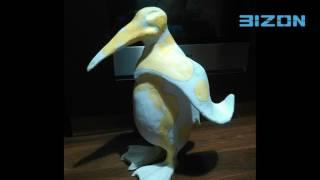 Папьемаше,кукла пингвин от
