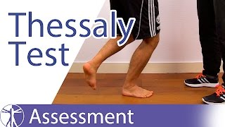 Thessaly Test⎟Meniscus Lesion