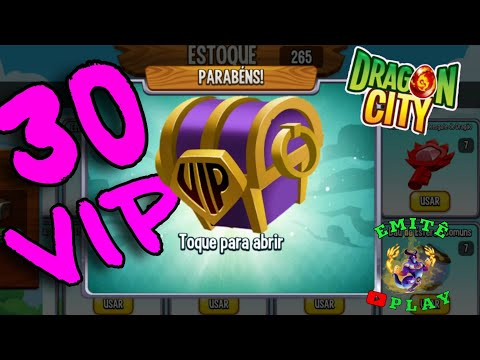 Dragon City - OPENNING DE BAÚ VIP
