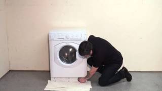 how to clean the filter on a hotpoint washing machine