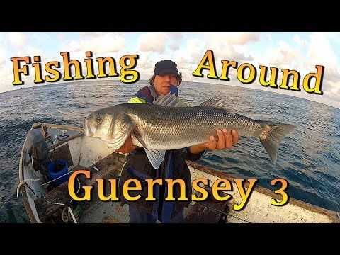 Fishing Around Guernsey - Bass ( Day 3 )