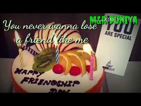Happy Friendship Day - I Never Wanna Lose A Friend Like You - WhatsApp Status
