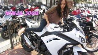 2013 Kawasaki NINJA 300 for HER - The Best Bike for GIRLS & Noob Riders! :-)