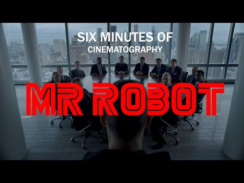6 Minutes Of Mr Robot's Cinematography | No Spoilers