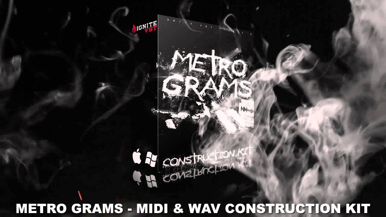 METRO GRAMS - [ TRAP ] MIDI & WAV LOOPS + FLP + DRUMKITS